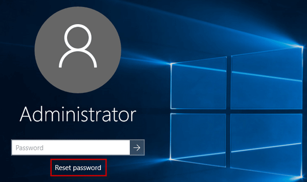 how to find my windows administrator password