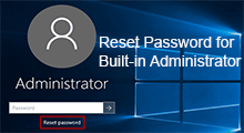 reset built in administrator password