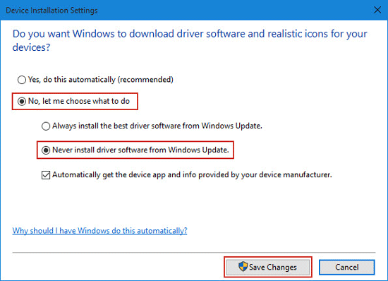 How To Install Driver Updates Windows 10