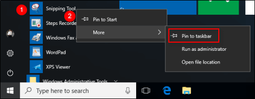 how to open windows snipping tool