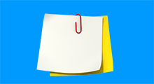 open and use sticky notes in Windows 10