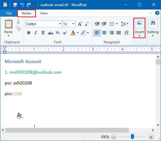 how to find wordpad on windows 10