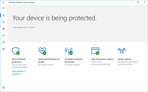 5 Ways to Open Windows Defender Security Center App