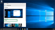 prevent user from changing desktop wallpaper in Windows 10