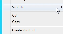 remove or restore send to context menu