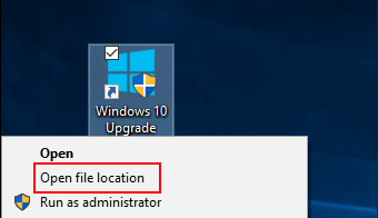 Run as Administrator using File Explore Context Menu