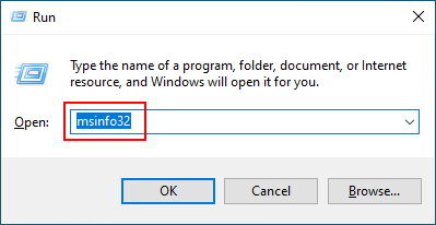 check windows 10 version 32 or 64