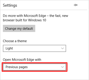 How to Set Microsoft Edge and Google Chrome Open Previous Tabs