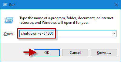 windows 10 shutdown.exe parameters