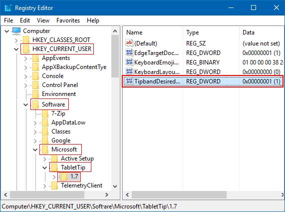 how to show taskbar on bottom of tablet