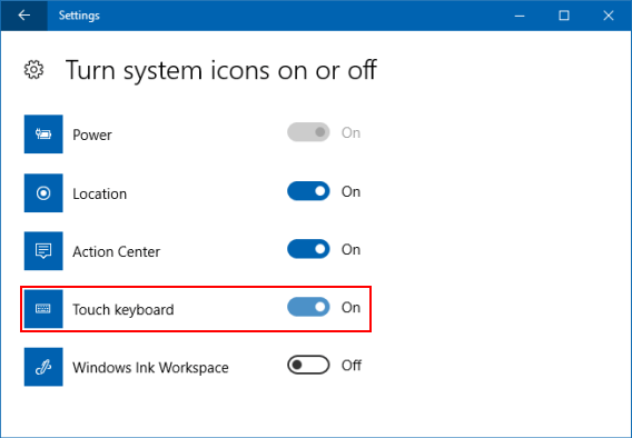 Top 3 Way to Show or Hide Touch Keyboard Button in Taskbar