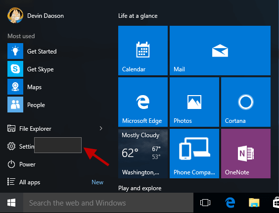 windows start menu button not working