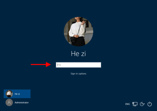 Sign in to Windows 10