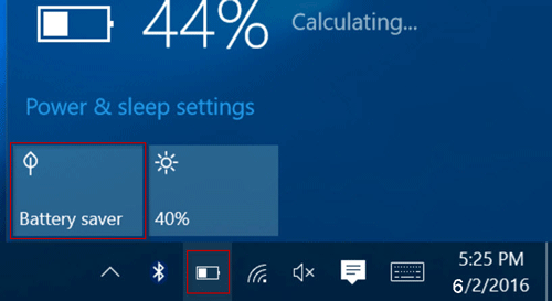 How to Turn on/off and Configure Battery Saver in Windows 10