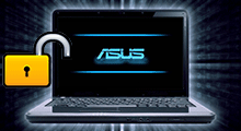 locked out of laptop asus