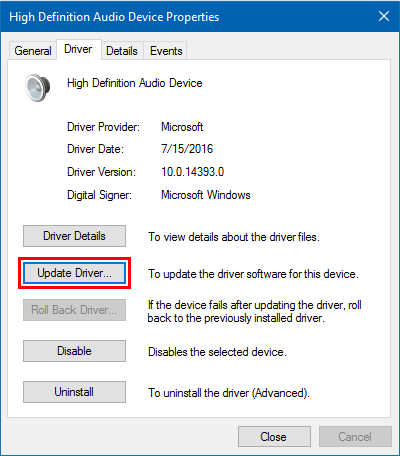 i updated to windows 10 and lost sound