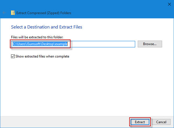 How to Zip and Unzip Files in Windows 10 without WinZip Software