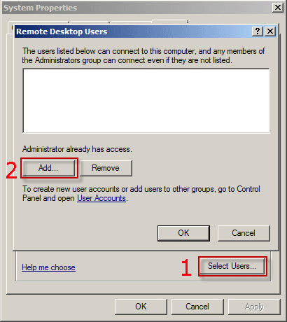 3 Ways to Enable/Disable Remote Desktop in Windows Server 2008/R2