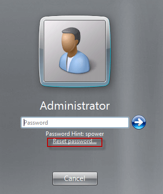 how to find administrator password