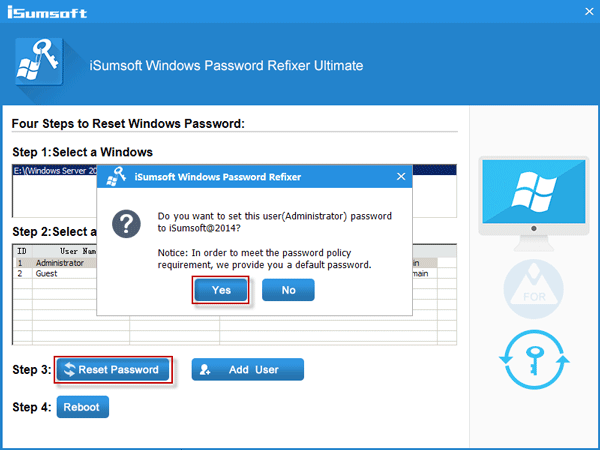 how to launch password change from windows 2008
