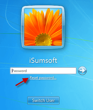windows 7 user login password remove