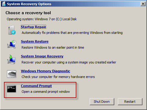what is a password reset disk for windows 7
