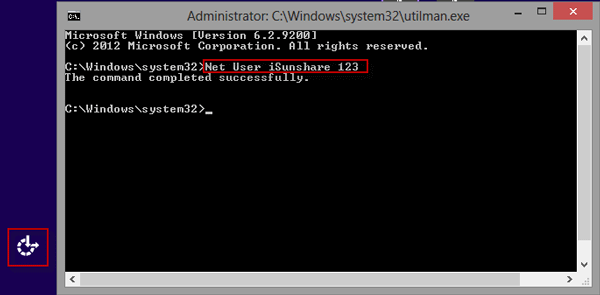 open command prompt