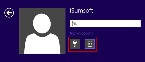 Sign-in Options