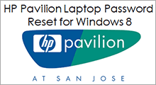 hp pavilion laptop password reset Windows 8