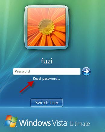 how to reset password on laptop toshiba