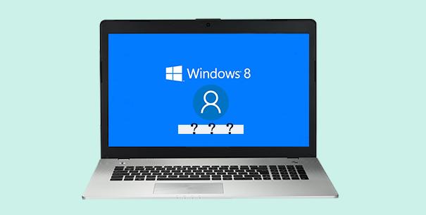 forgot microsoft account password windows 8
