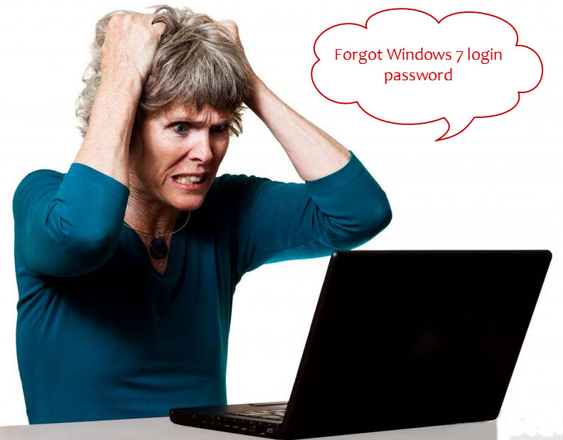 forgot computer password windows 7