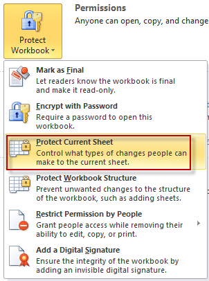 Protect Current Sheet