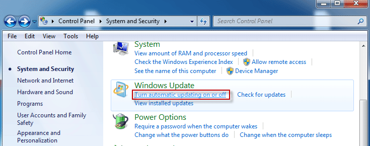 How Do I Turn off Automatic Updates on Windows 7 | iSumsoft