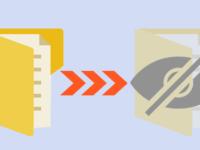 hide or unhide folders