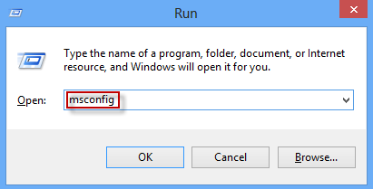Run Msconfig