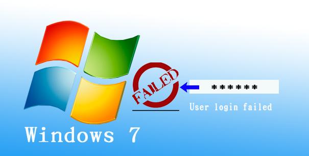 windows 7 user login failed
