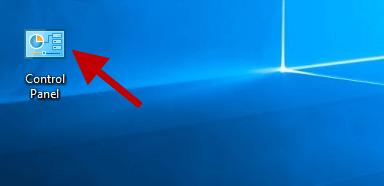 control panel desktop icon
