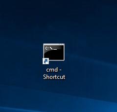 command prompt shortcut