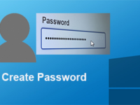 create password for user account in windows 10