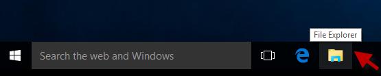 Click File Explorer
