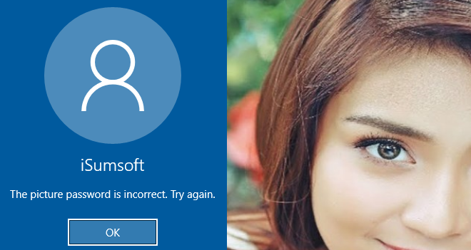 forgot picture password windows 10