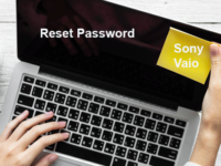sony vaio laptop password reset windows 8.1
