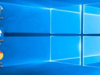 display desktop icons on windows 10