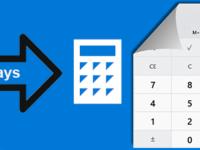 open calculator in windows 10