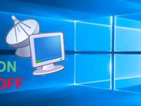 turn on or off remote desktop in windows 10