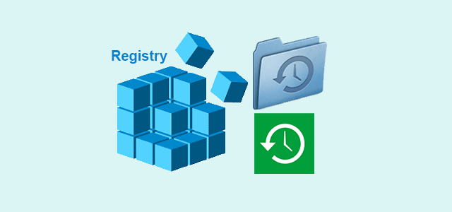 backup or restore registry in windows 10