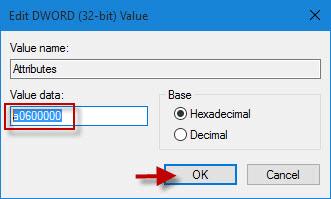 Change data value