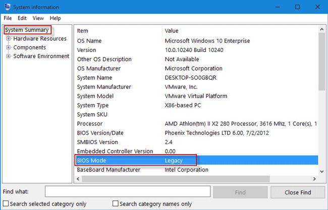 check BIOS mode