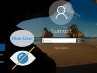 hide user account on windows 10 sign-in screen